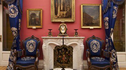 Museo Nacional del Romanticismo. La salita.