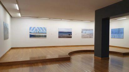 Vista de la exposición 'Piscinas del olvido' de Cano Erhardt. Bilbao, 2020. PHotoESPAÑA 2020.
