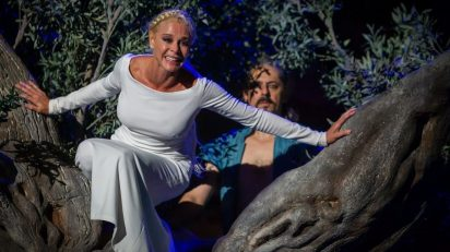 Belén Rueda y Jesús Noguero en 'Penélope'.