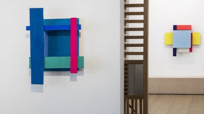 Rosa Brun en la Galería Fernández-Braso.