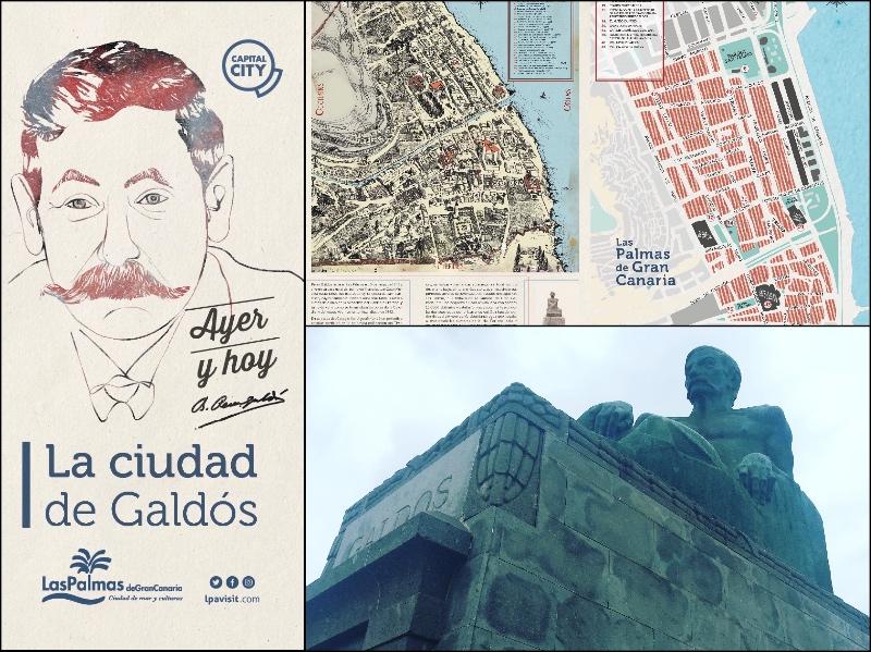 Ruta autoguiada para conocer la ciudad de Benito Pérez Galdós.