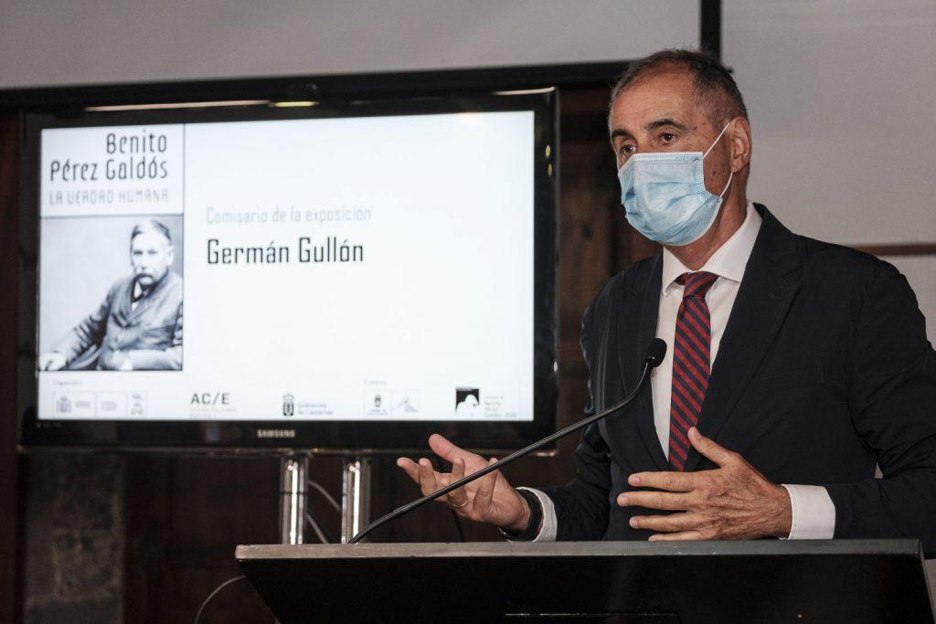Germán Gullón. ©Ángel Medina G. / Cabildo de Gran Canaria.