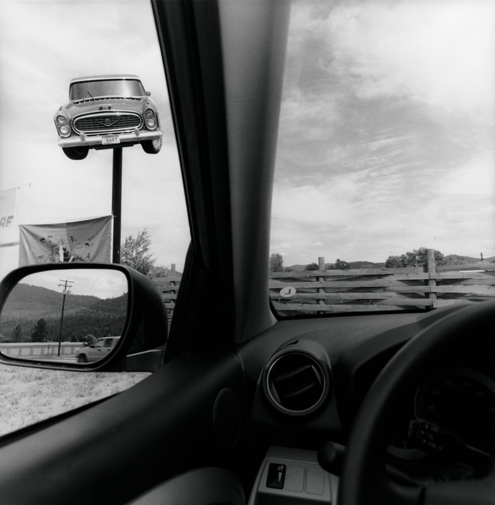 Lee Friedlander. 'Montana', 2008. Cortesía del artista y de Fraenkel Gallery, San Francisco. © Lee Friedlander.