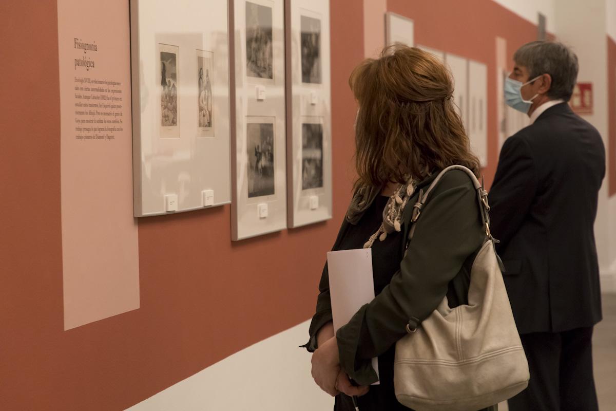 'Goya, tres miradas. Mujer, guerra y rostro'. © Luis Domingo.