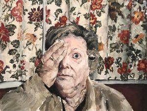Santiago Ydáñez. 'Madre', 2019. Acrílico sobre lienzo. 200 x 248 x 3 cm.
