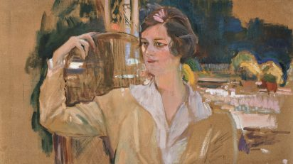 Joaquín Sorolla, Retrato de Mabel Rick, c. 1920. Museo Sorolla, Madrid.