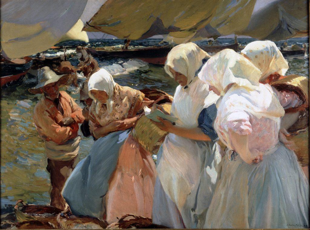 Joaquín Sorolla. 'Pescadoras valencianas', 1903. Diputación de Valencia.