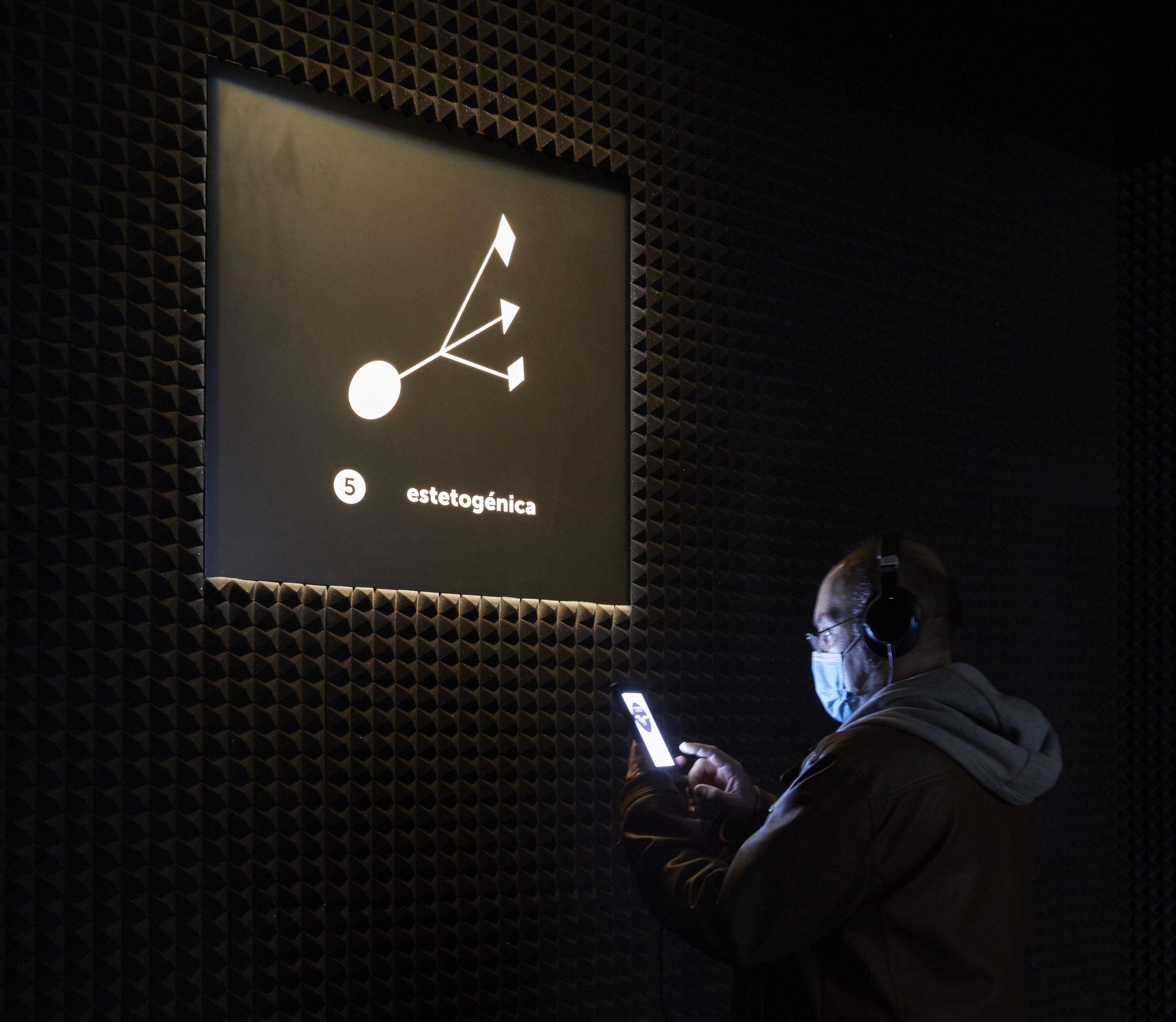 'Audiosfera. Experimentación sonora 1980-2020'. Fotografía: Joaquín Cortés / Román Lores. Archivo fotográfico del Museo Reina Sofía.