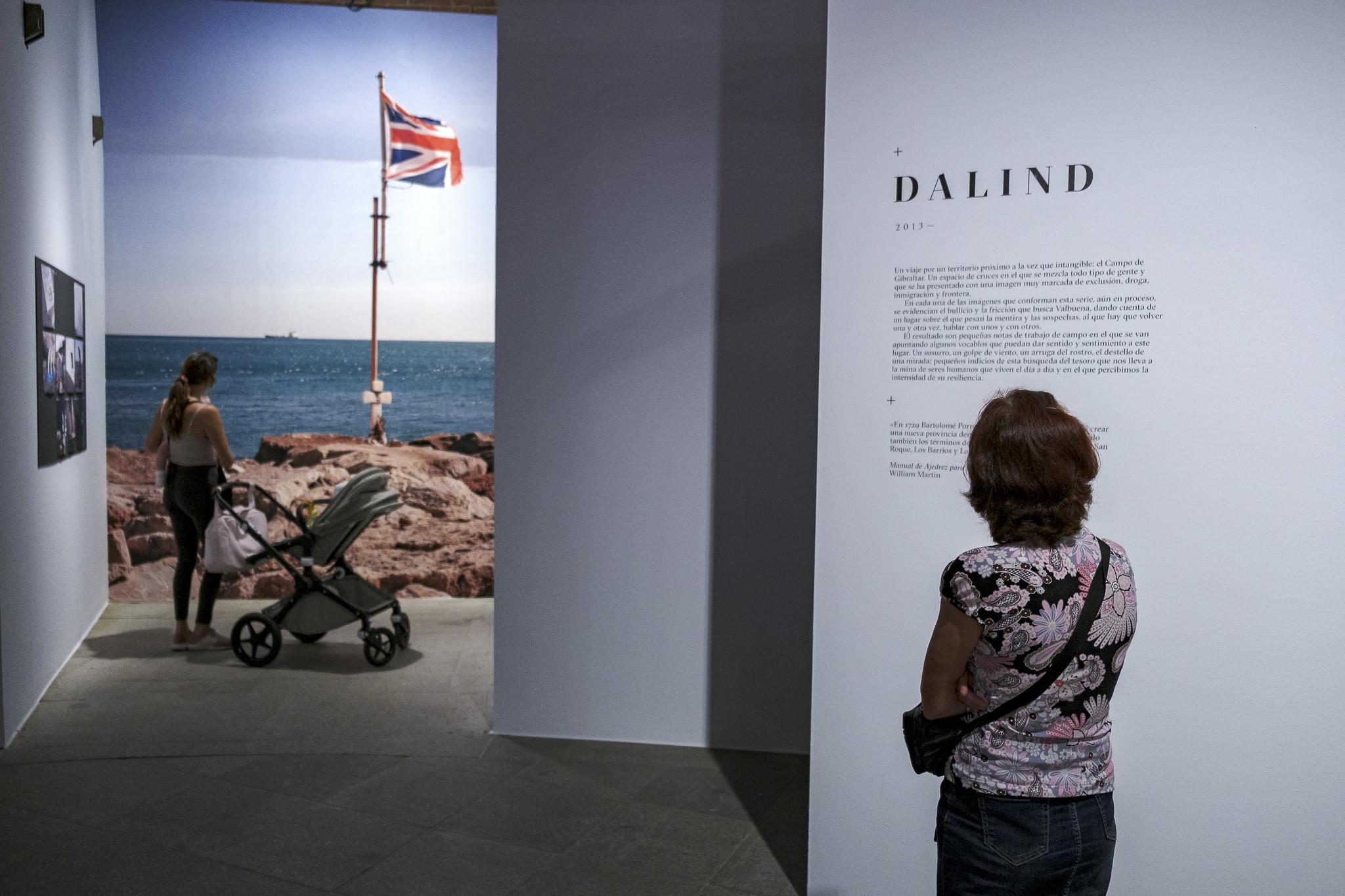 Exposición 'Juan Valbuena. Donde doblan los mapas'. Foto: Guillermo Gumiel.