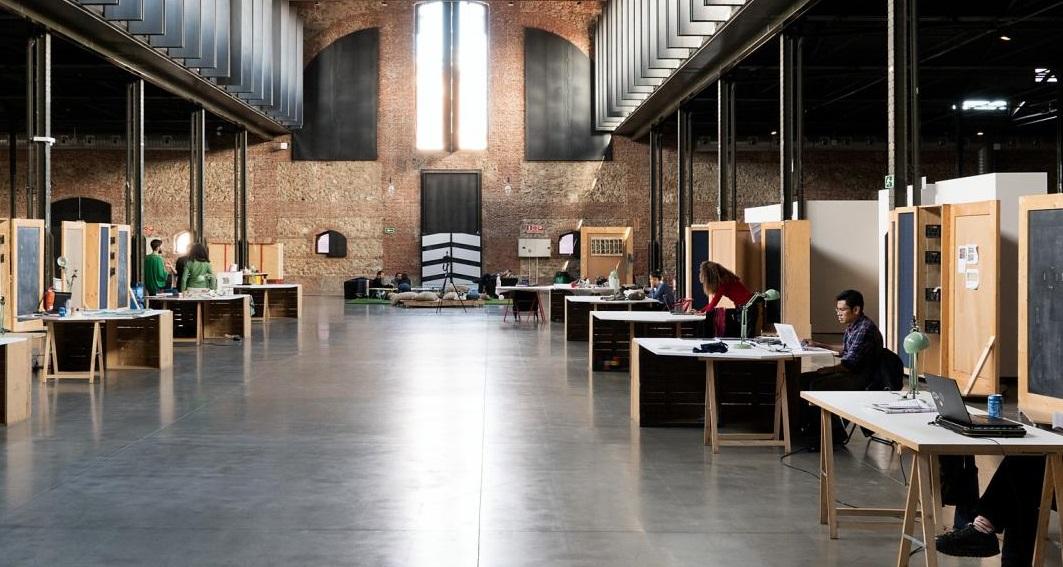 Centro de residencias artísticas Matadero Madrid