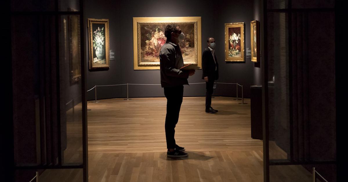 'Invitadas'. Museo Nacional del Prado. © Luis Domingo.