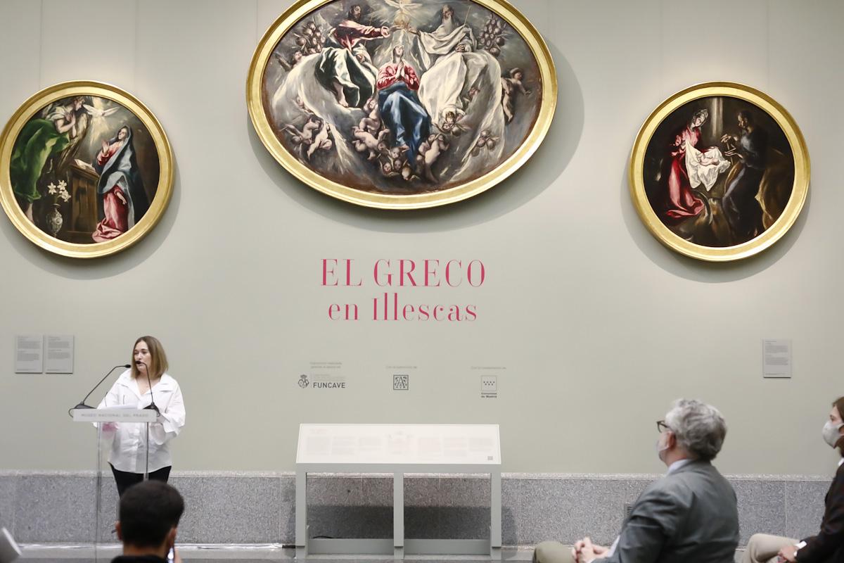 El Museo Nacional del Prado expone las obras del Greco de la iglesia del Hospital de la Caridad de Illescas en Toledo. © Luis Domingo.