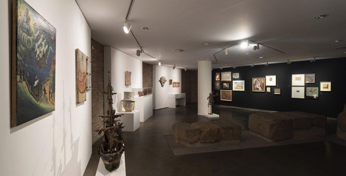 'Arte Ingenuo. Colección Santos Lloro'. Foto: Javier Broto.