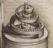 'Tratado de estatica y mechanica'. Leonardo da Vinci. MSS 8937.