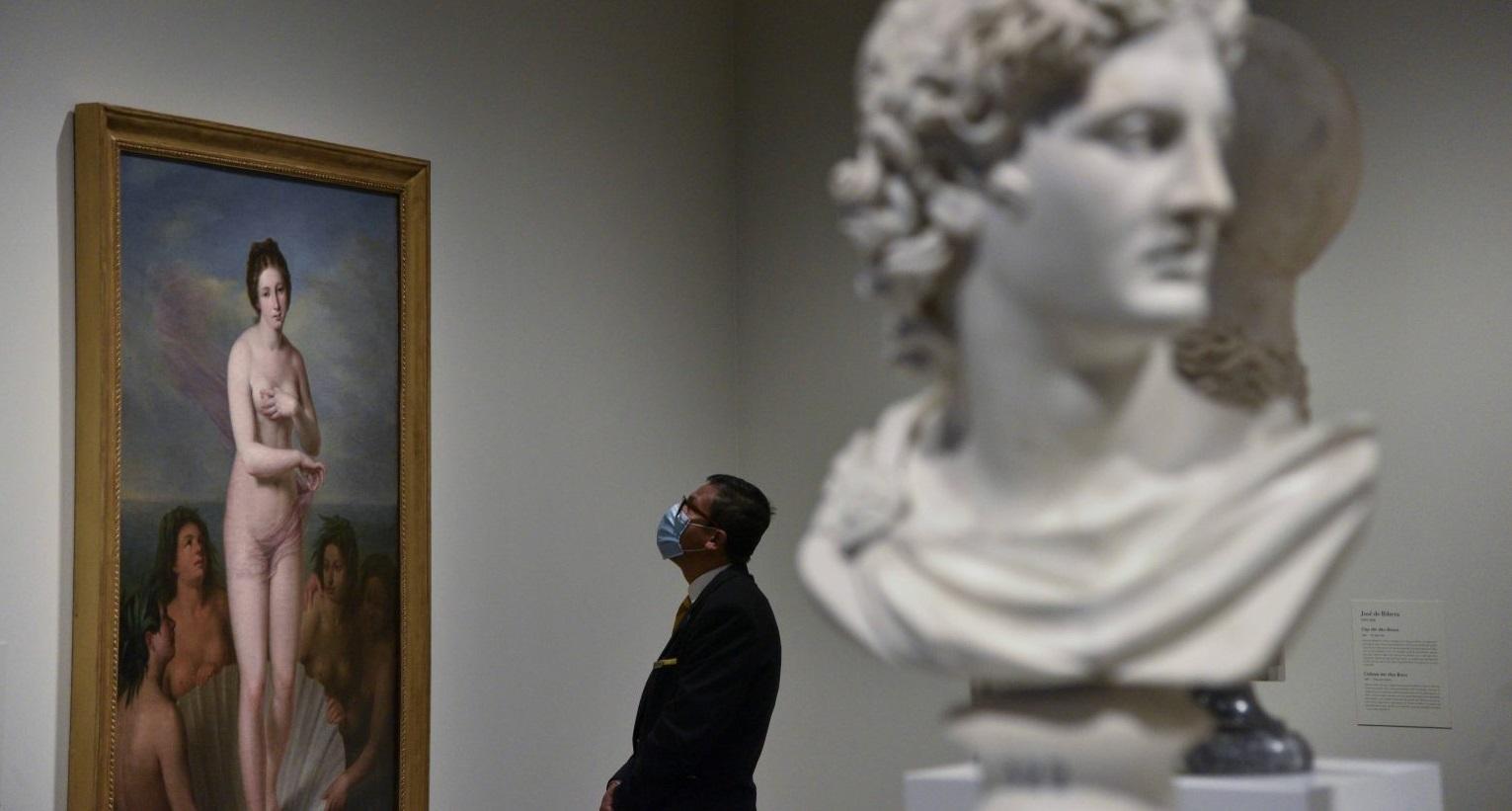 Exposición Arte y mito. Los dioses del Prado en CaixaForum Barcelona.
