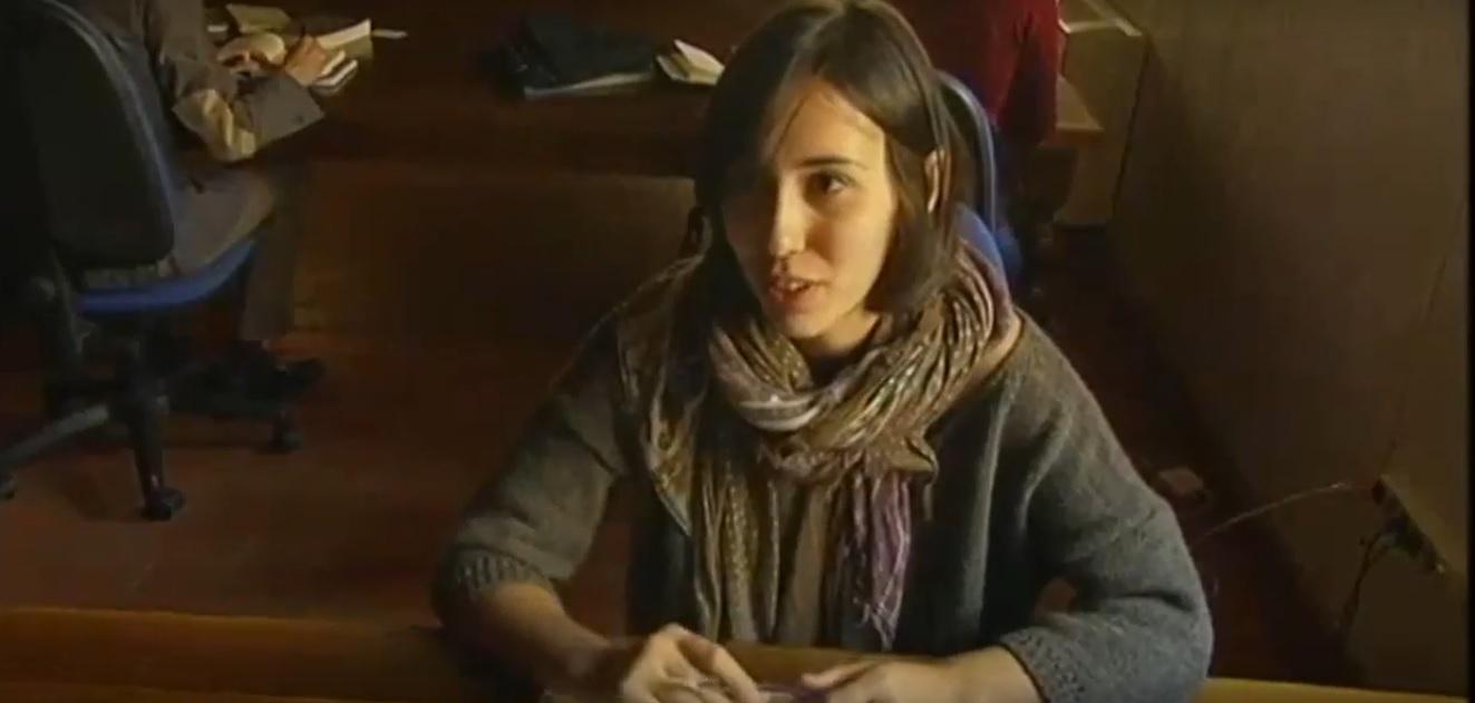 Yaiza Berrocal. Foto: YouTube.