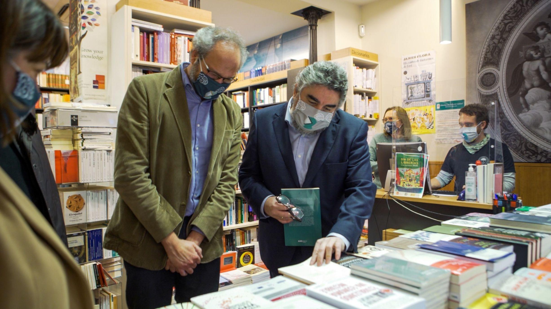 El ministro de Cultura en el Día de las Librerías.