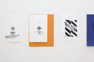 'Collages'. Azucena Vieites. Serigrafía sobre papel, 2009. Tamaño: 55 x 36,5 y 50 x 70 cms.