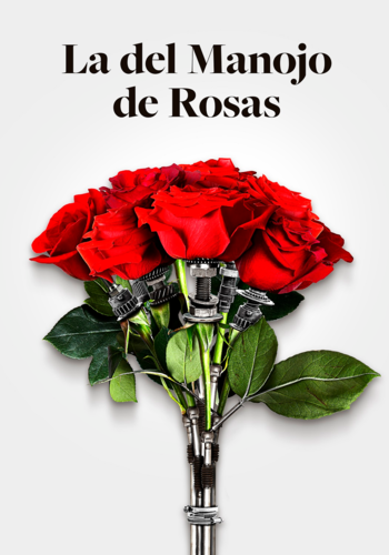 La del manejo de rosas.