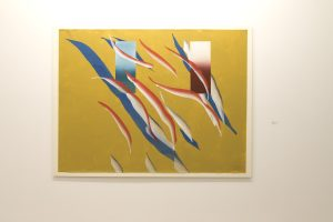 'Brote sobre... papel'. Galería Fernández-Braso. © Luis Domingo.
