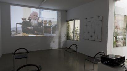 Parra & Romero presenta Basics on Composition / Informal Multitudes, exposición individual de Helmut Federle. © Luis Domingo.