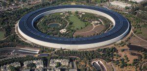 Sede central de Apple en Cupertino (California).