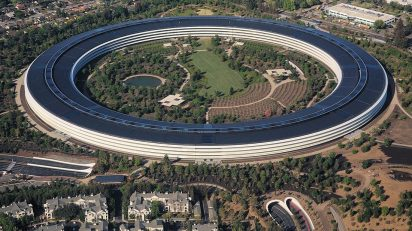 Sede central de Apple en Cupertino (California).