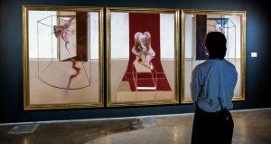 'Tríptico inspirado en la Orestiada de Esquilo' (Francis Bacon, 1981). Shotheby's.