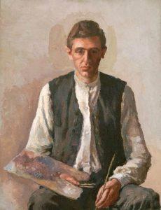Giorgio Morandi, Autoritratto, 1925. Fondazione Magnani Rocca, Mamiano di Traversetolo. © Giorgio Morandi, VEGAP, Madrid, 2020.