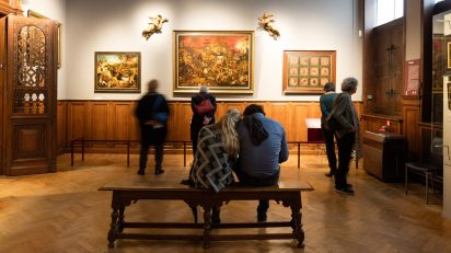 Sala de Pieter Brueghel el Viejo en el Museum Mayer van den Bergh de Amberes. Belgian Tourism Board for Flanders & Brussels.