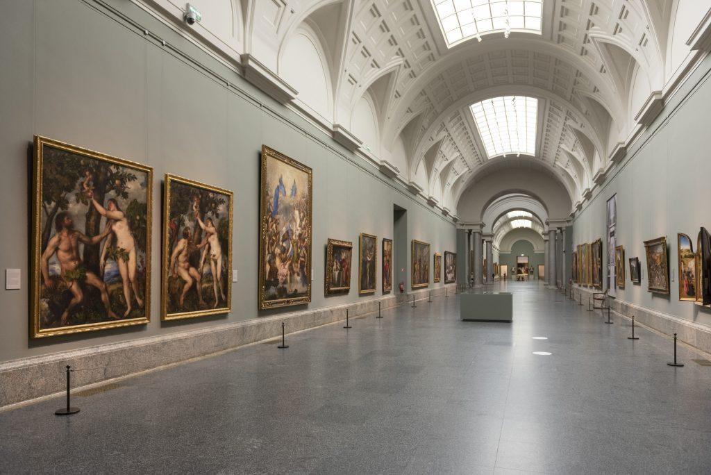 'Reencuentro'. Galería Central. Museo Nacional del Prado.