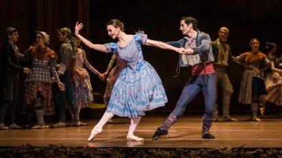 'Giselle'. Compañía Nacional de Danza. Foto: Alba Muriel.