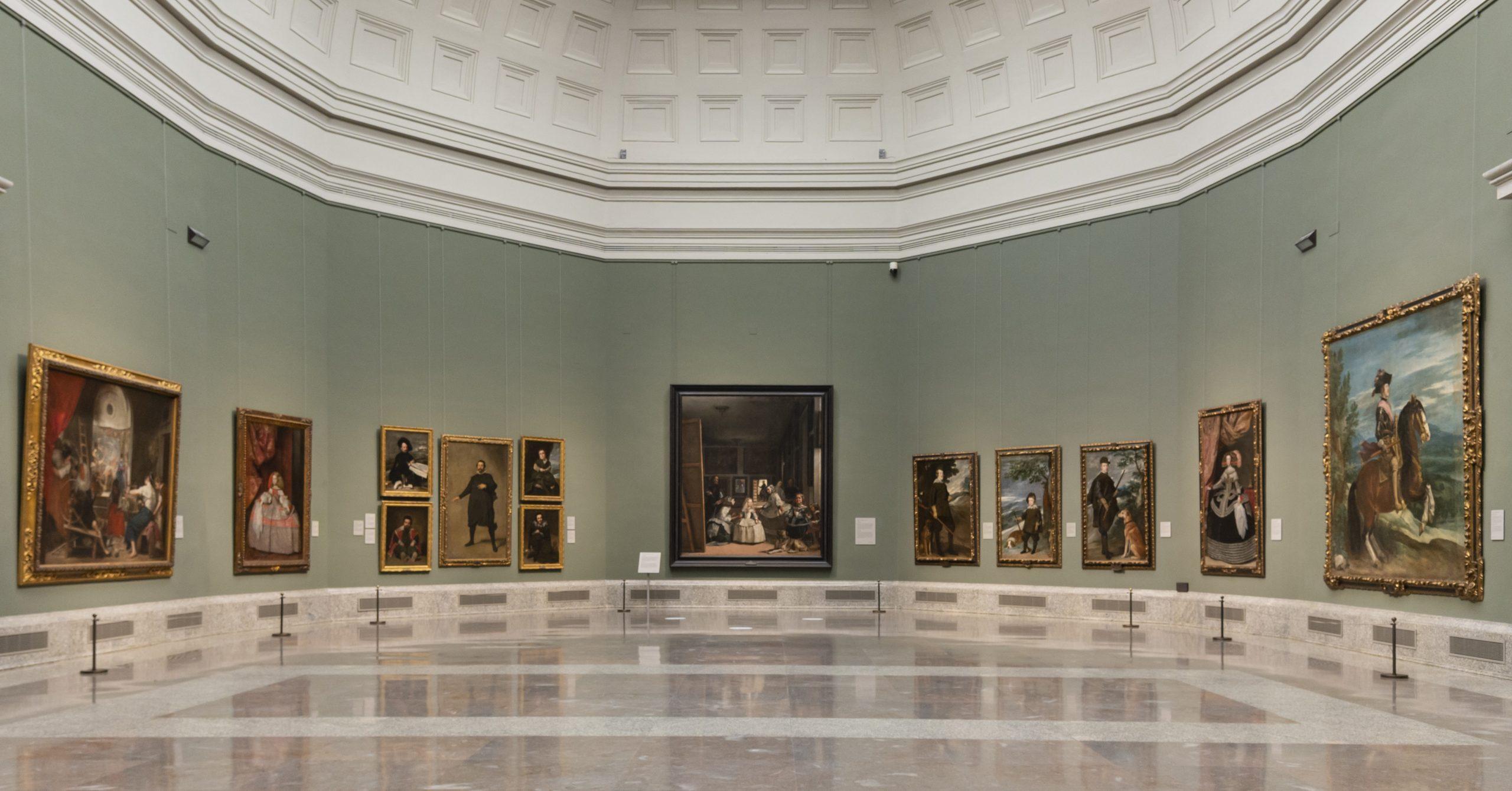 'Reencuentro' Sala 12. Museo Nacional del Prado.