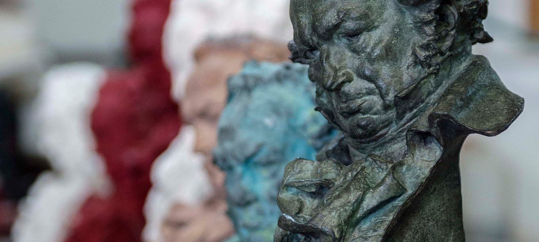 Premio Goya. Foto: Academia de las Artes y las Ciencias Cinematográficas de España .