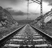 La vía. Foto de Rodrigo Valero.