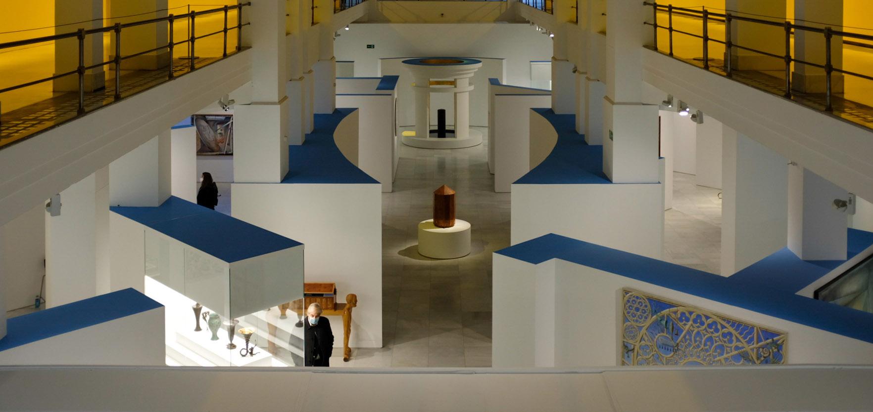 Exposición 'Guillermo Pérez Villalta. El arte como laberinto'. Foto: Guillermo Gumiel.