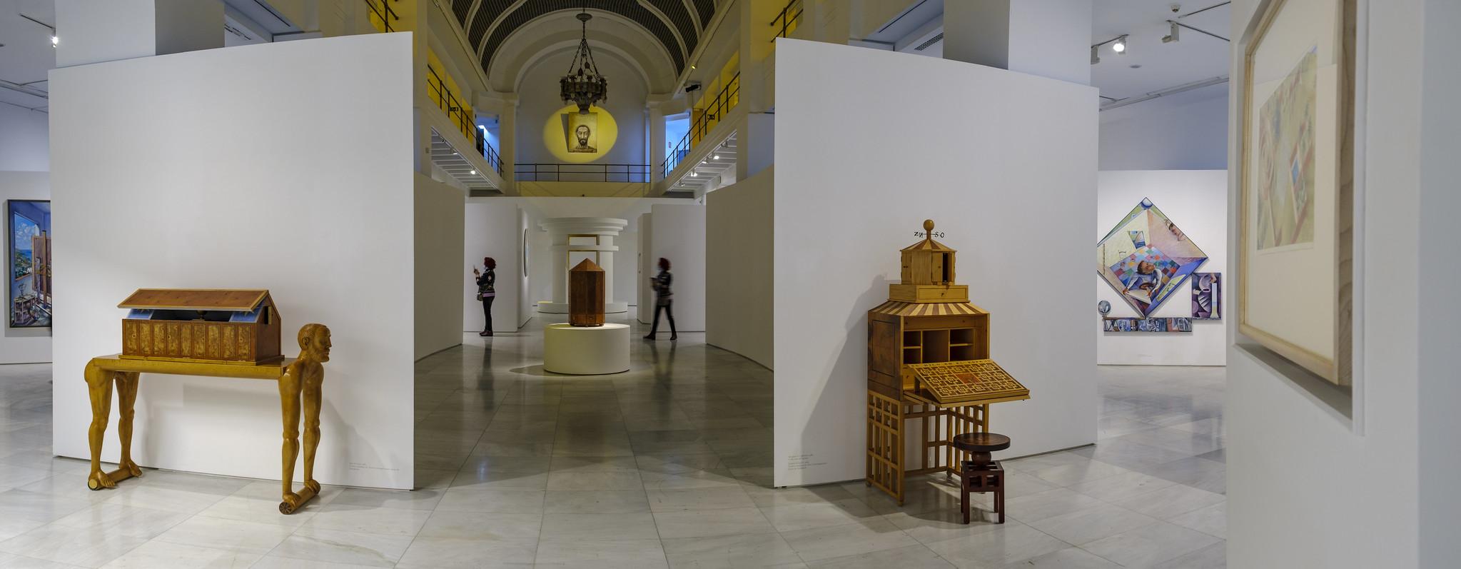 Exposición 'Guillermo Pérez Villalta. El arte como laberinto'. Fotos: Guillermo Gumiel.