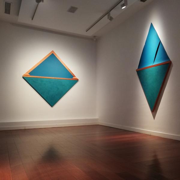 Silvia Lerín. 'Copper Landscapes'. Sala 1. Puxagallery.