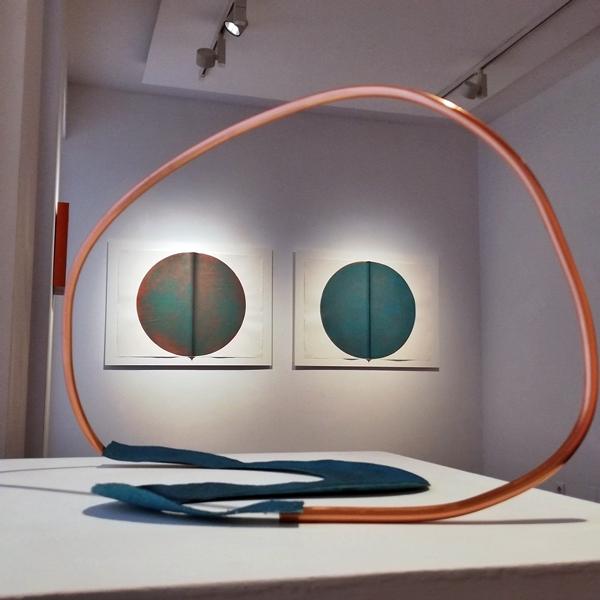 Silvia Lerín. 'Copper Landscapes'. Sala 2. Puxagallery.