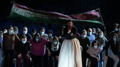 Imágenes de los ensayos del primer reparto de 'Norma' (Yolanda Auyanet).