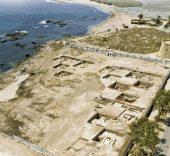 Panorámica de Baria (Villaricos) antes del desarrollo urbanístico actual.