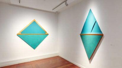 Silvia Lerín. Copper Landscapes. Sala 1. Puxagallery.
