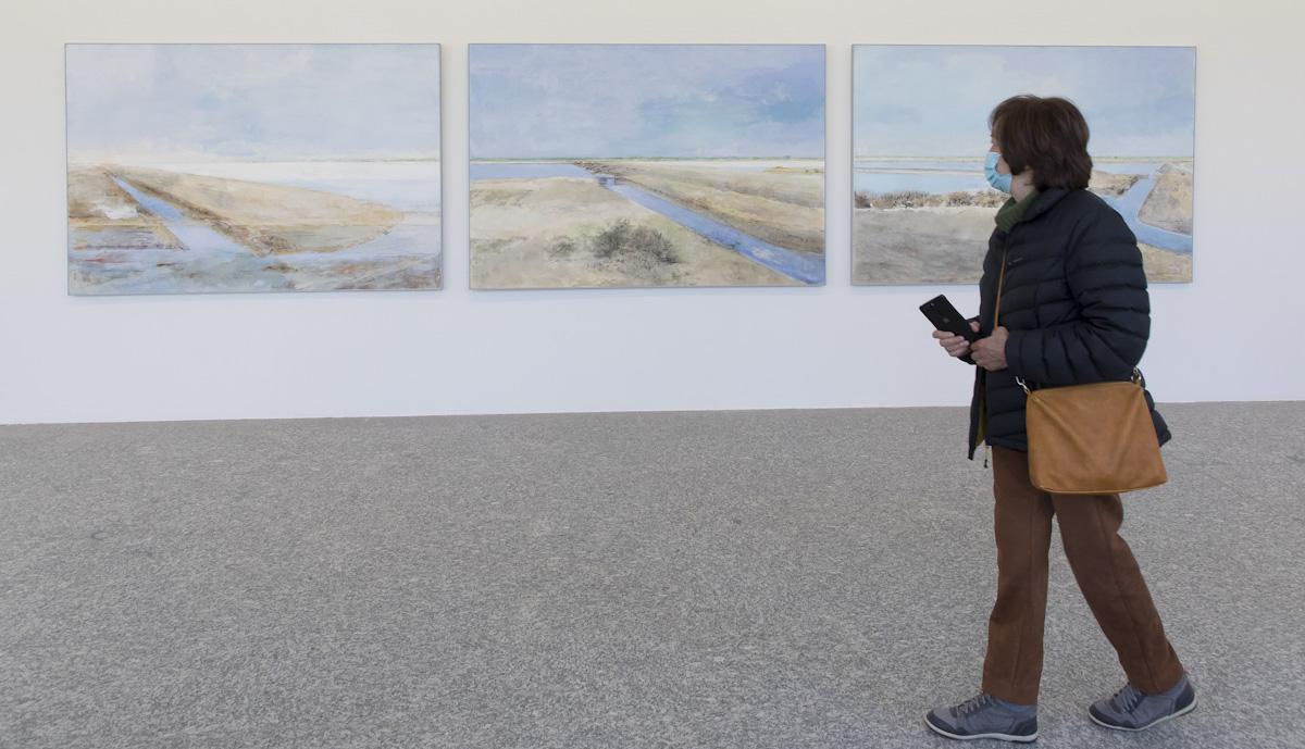 'La sal'. Exposición de Carmen Laffón. © Luis Domingo.
