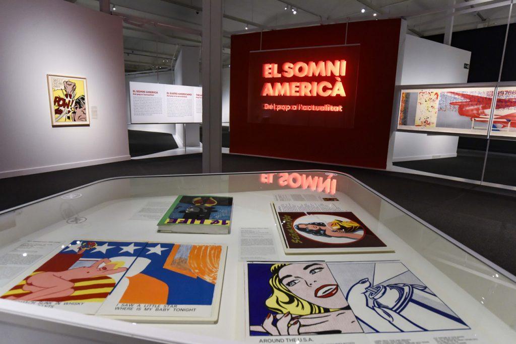 """Exposición 'El sueño americano. Del pop a la actualidad' en CaixaForum Barcelona, la sexta colaboración entre el British Museum y la Fundación """"la Caixa""""."""