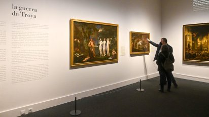 Exposición 'Arte y mito. Los dioses del Prado' en CaixaForum Tarragona.