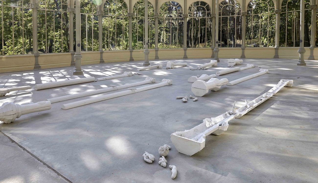 Pep Agut. 'Meridiano de Madrid: sueño y mentira'. Archivo fotográfico del Museo Reina Sofía.