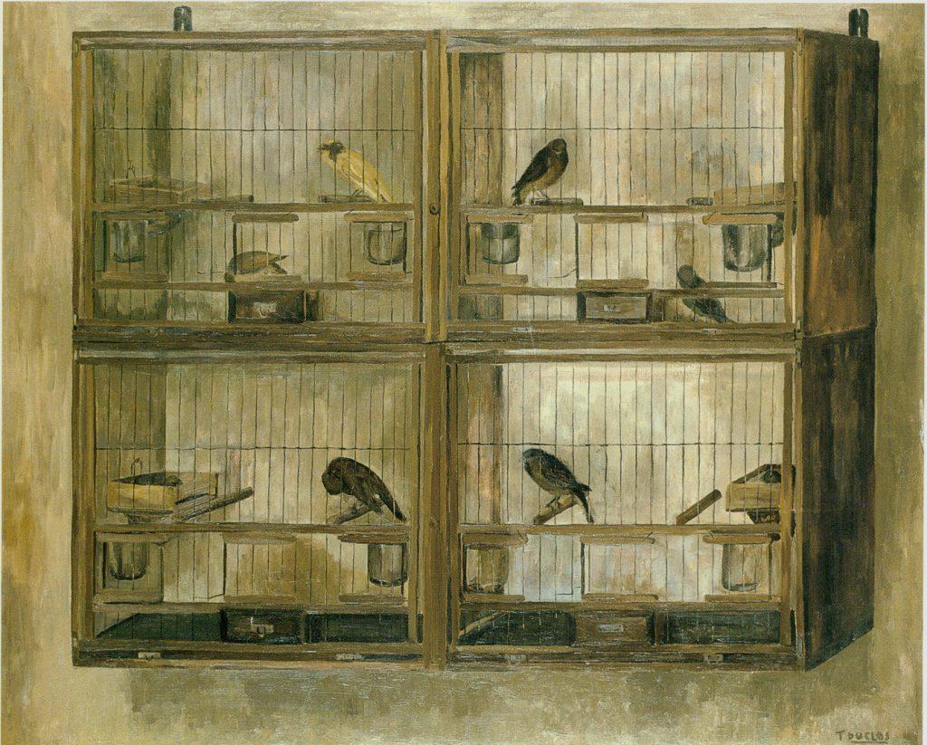 Teresa Duclós. 'Los pájaros', 1967.