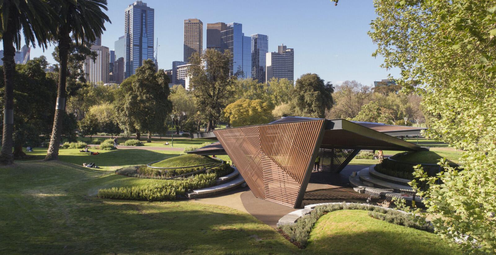 Carmen Pinós. MPavillion (Melbourne, Australia). Foto: © John Gollings.