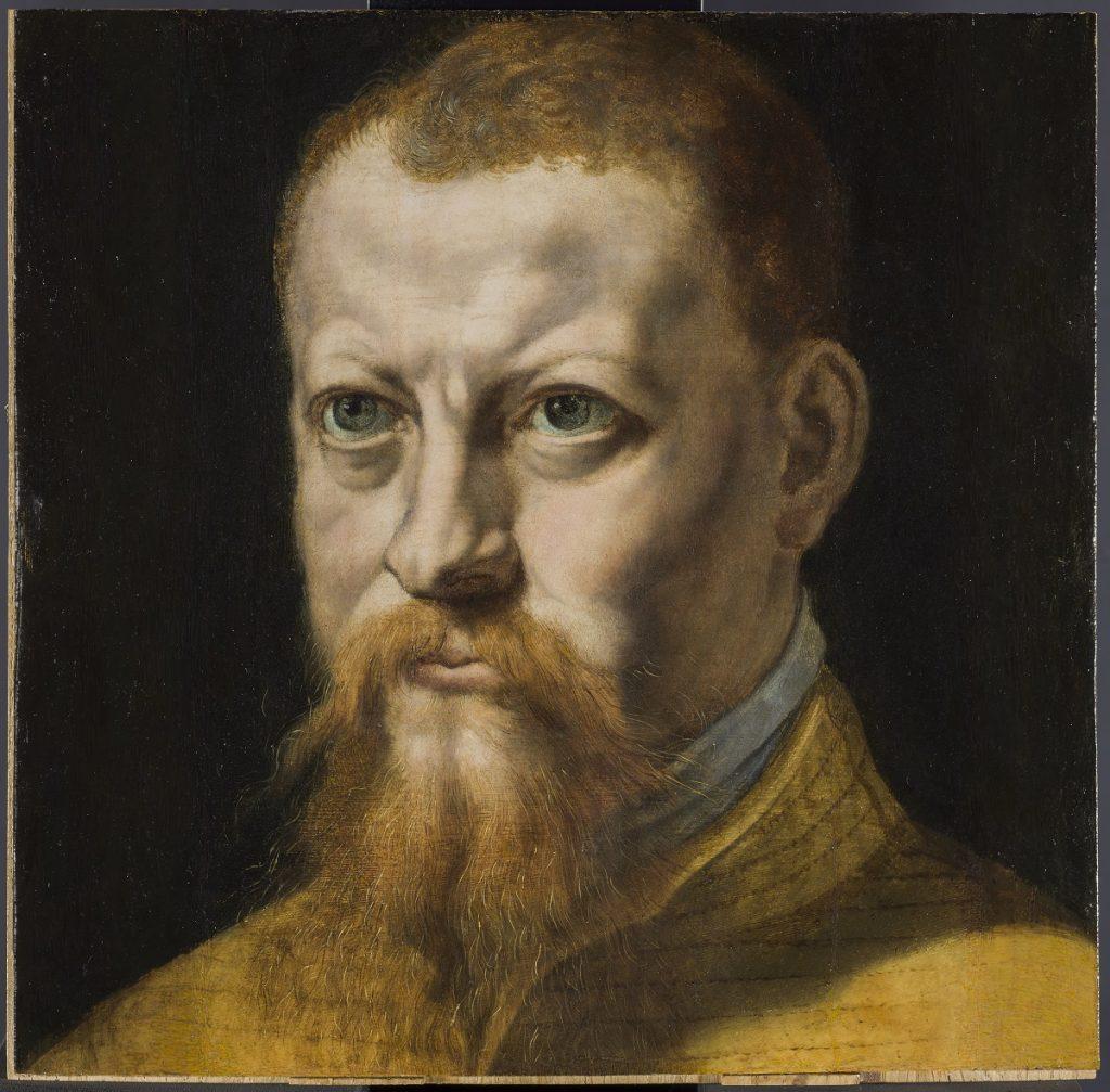 Autorretrato Pedro de Campaña (1503-h. 1580). Óleo sobre tabla. h. 1550. Madrid, Museo Nacional del Prado. Adquirido en 2019.