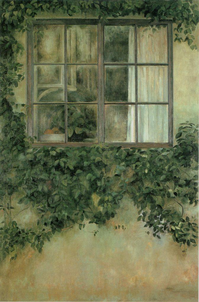 Teresa Duclós. Detalle de 'La ventana de detrás', 1981. Fundación Cajasol.